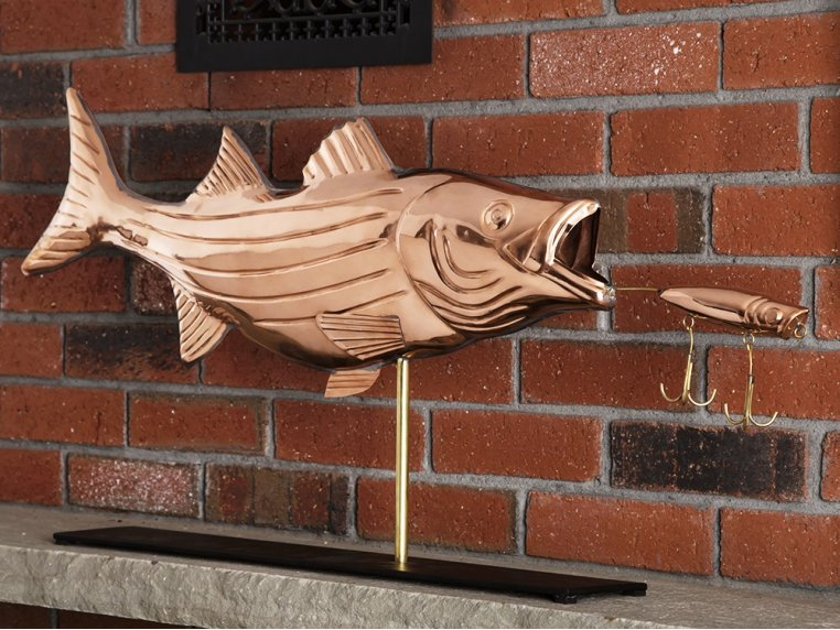 100% Copper Mantle Sculpture by Good Directions - 1