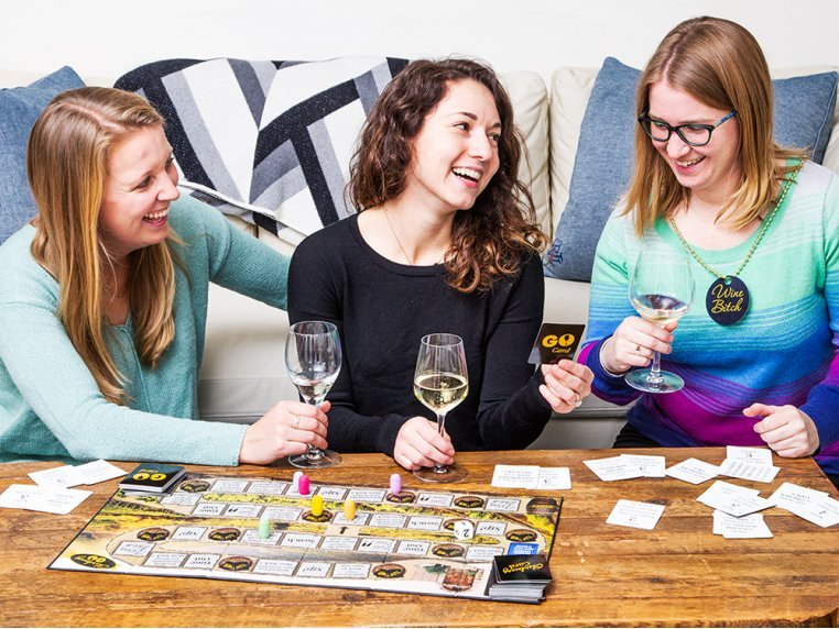 Chardonnay Go Adult Board Game by One Funny Mother - 2