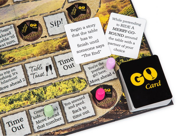 Chardonnay Go Adult Board Game by One Funny Mother - 3