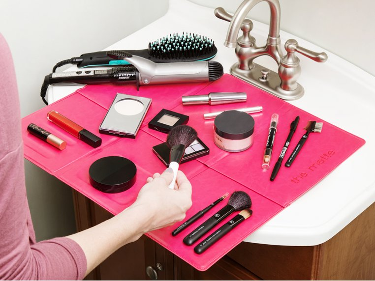 Over-The-Sink Makeup Mat by The Matte - 1