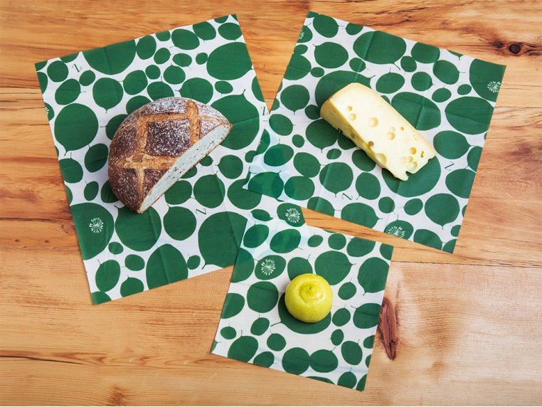 Reusable Beeswax Food Wrap Multipack by Z Wraps - 2