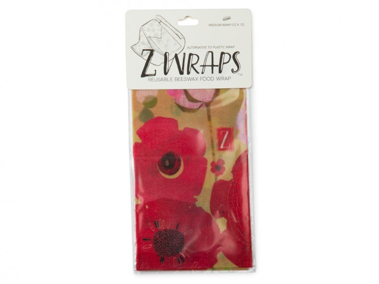 Reusable Beeswax Food Wrap Multipack by Z Wraps - 6