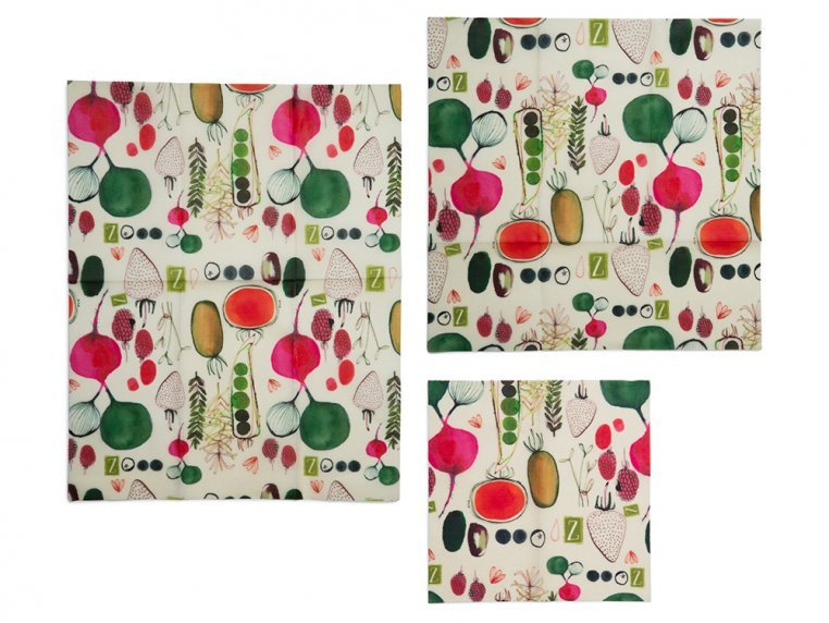 Reusable Beeswax Food Wrap Multipack by Z Wraps - 7