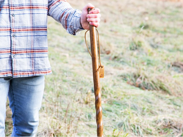 Rustic Walking Stick by Brazos - 1