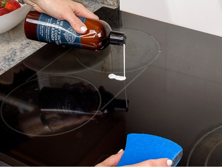 Glass Cooktop Cleaner Kit by Therapy Clean - 2