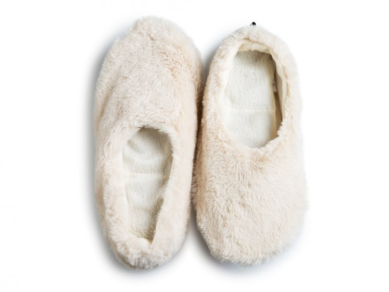 Aromatherapy Heatable Slippers - Natural - XS (5-6) by PANTUSS - 1