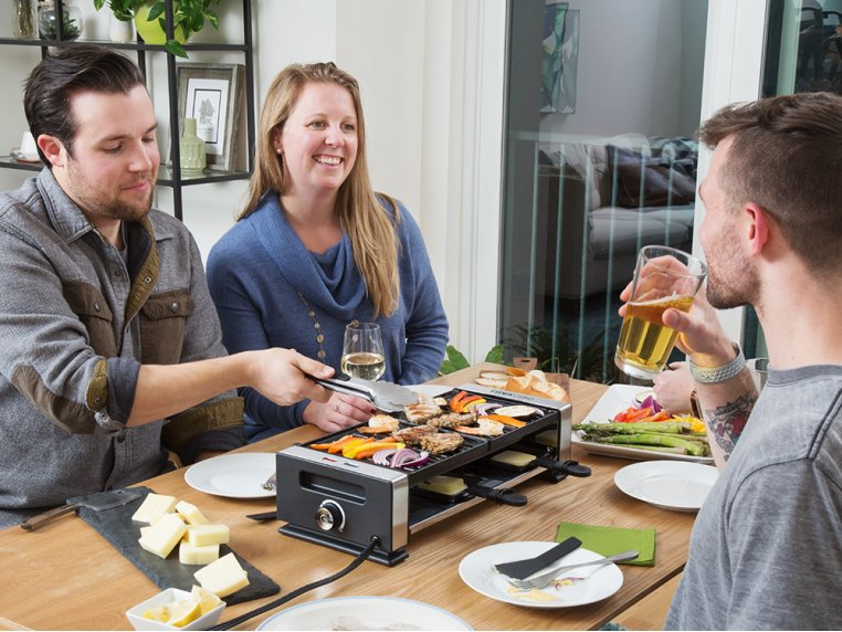 Indoor Tabletop Raclette Grill by Party Grill - 2