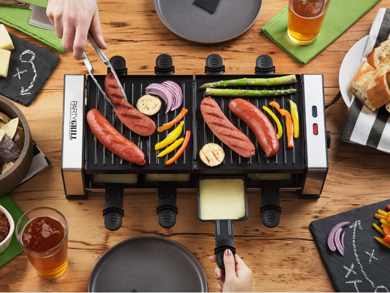 Indoor Tabletop Raclette Grill by Party Grill - 5