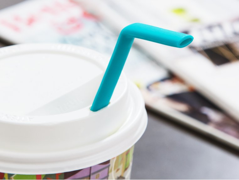 Reusable Silicone Straws by KoffieStraw - 2