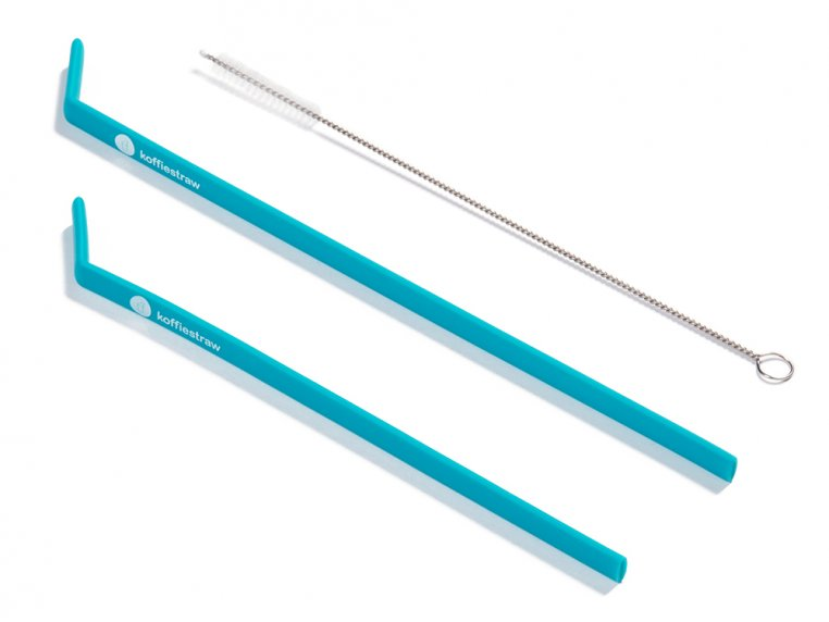 Reusable Silicone Straws by KoffieStraw - 7