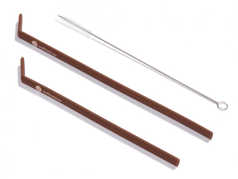 Reusable Silicone Straws by KoffieStraw - 9