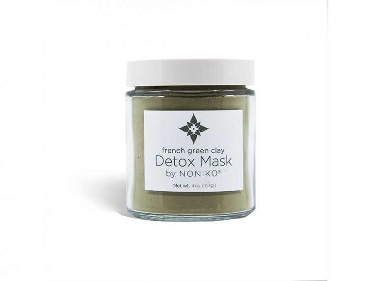 French Green Clay Detox Mask by NONIKO - 2
