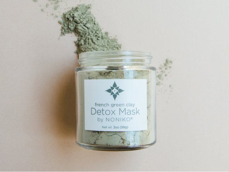 French Green Clay Detox Mask by NONIKO - 1