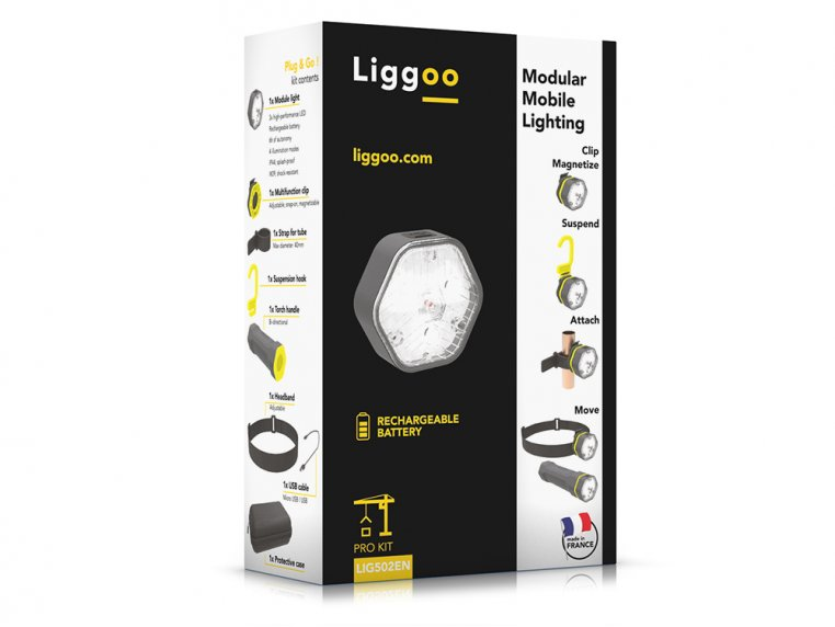 Convertible LED Work Light by Liggoo - 8