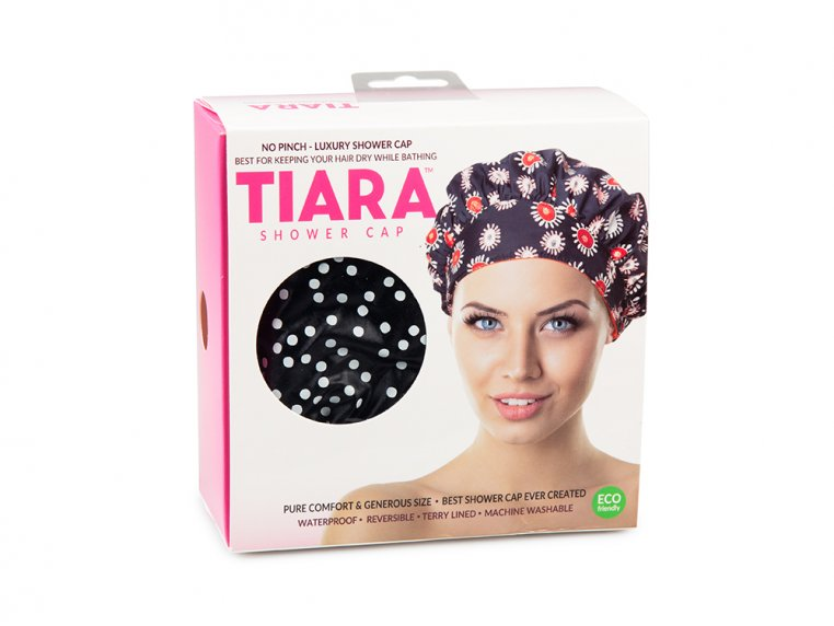 Terry-Lined Shower Cap by TIARA Shower Cap® - 7