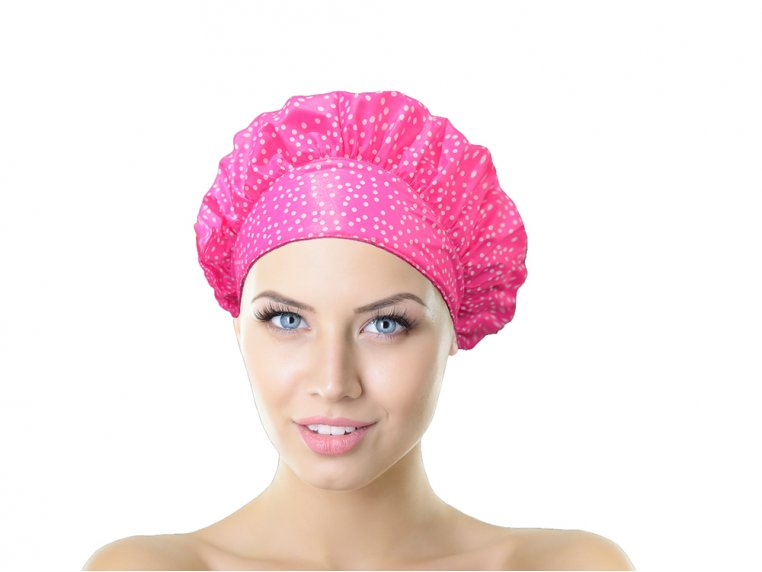 Terry-Lined Shower Cap by TIARA Shower Cap® - 10