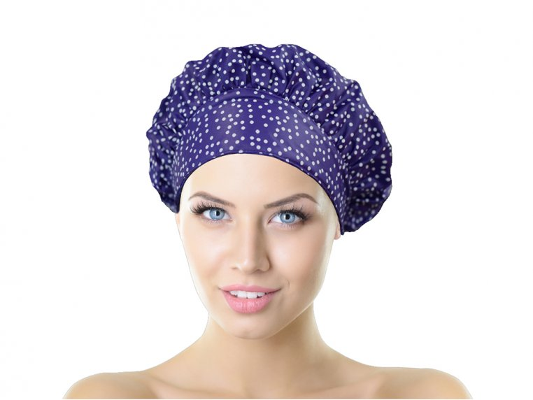 Terry-Lined Shower Cap by TIARA Shower Cap® - 11
