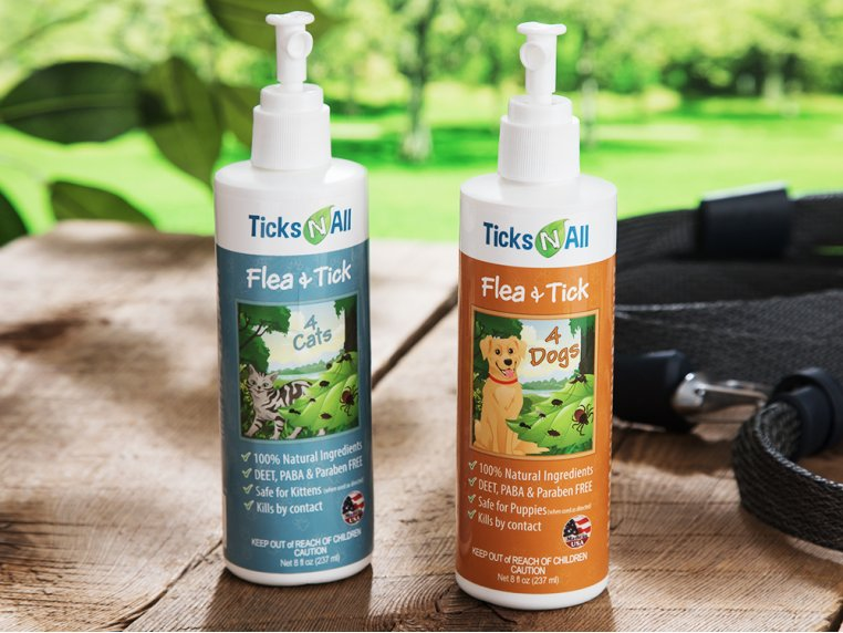 Flea & Tick Prevention for Pets by Ticks-N-All - 1
