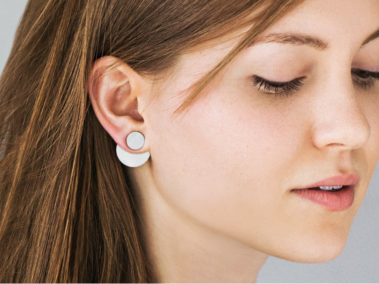 The Trifecta Convertible Earrings by Days of August - 1