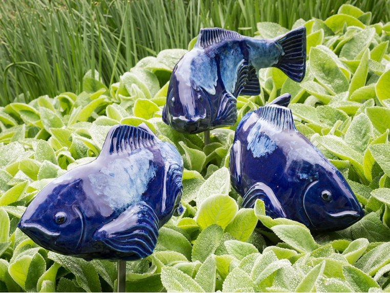 Medium Garden Koi - Set of 3 by Fish In The Garden - 2