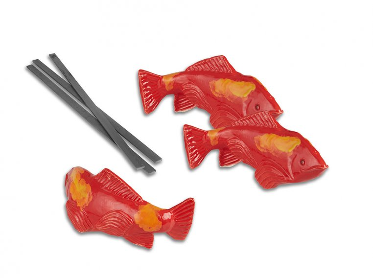 Small Garden Koi - Set of 3 by Fish In The Garden - 4