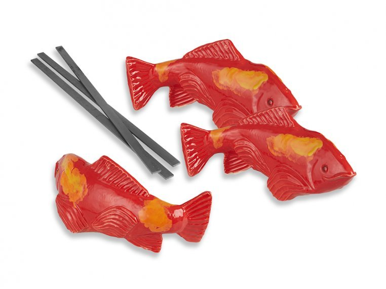 Medium Garden Koi - Set of 3 by Fish In The Garden - 5