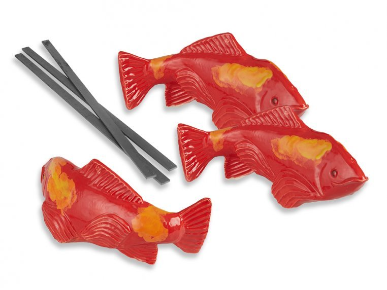 Large Garden Koi - Set of 3 by Fish In The Garden - 3