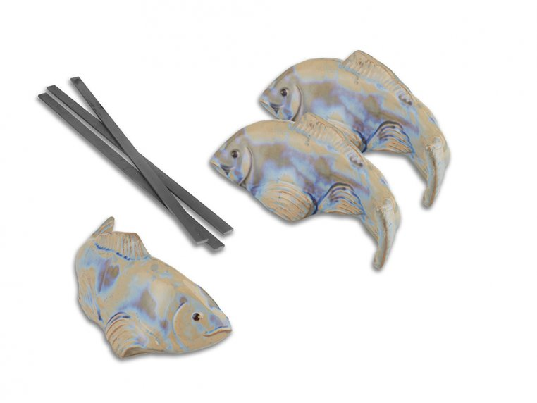 Small Garden Koi - Set of 3 by Fish In The Garden - 6