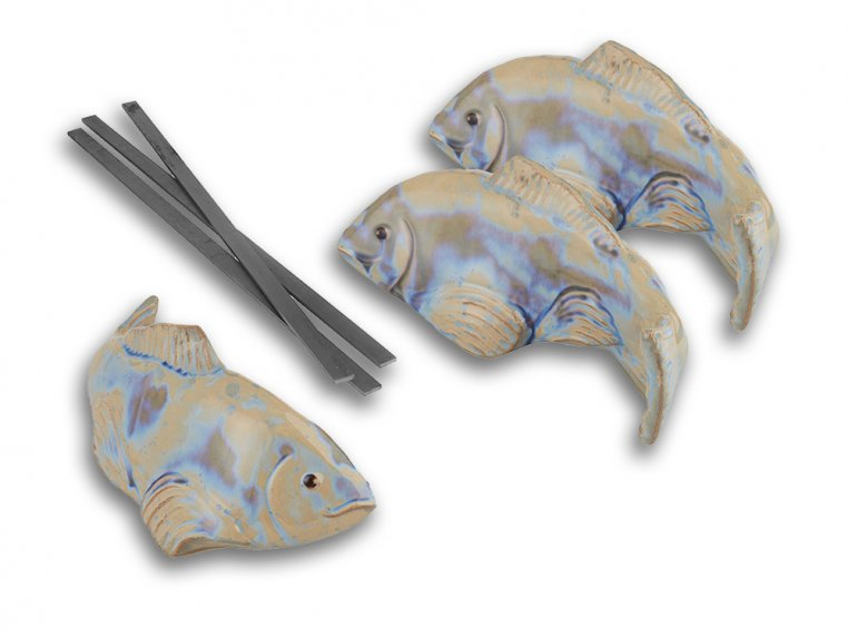 Medium Garden Koi - Set of 3 by Fish In The Garden - 7