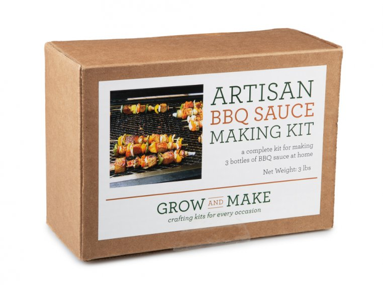 Make-Your-Own BBQ Sauce Kit by Grow and Make - 6