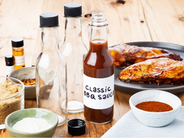 Make-Your-Own BBQ Sauce Kit by Grow and Make - 1