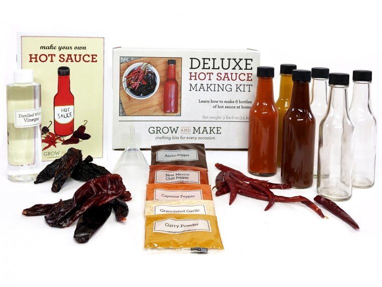 Make-Your-Own Hot Sauce Kit by Grow and Make - 9
