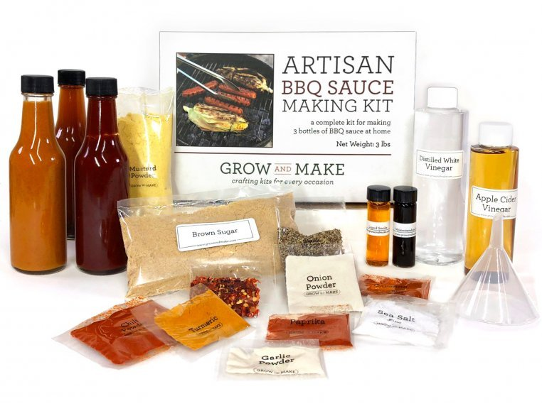 Make-Your-Own BBQ Sauce Kit by Grow and Make - 5