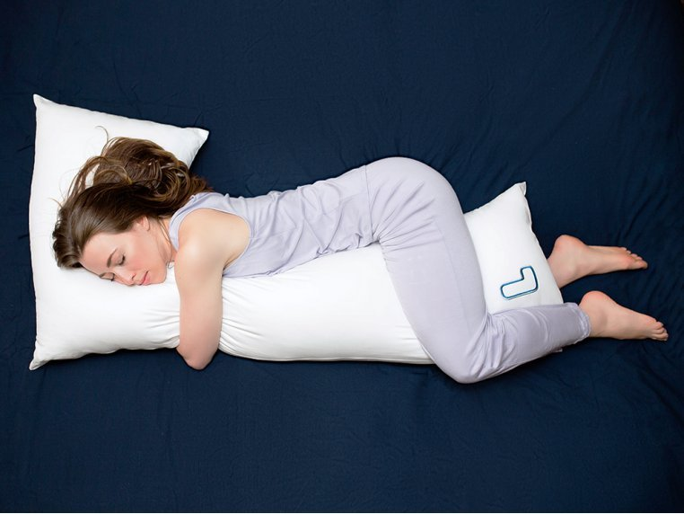L-Shaped Body Pillow & 2 Cases by Hypnos Sleep Sciences, LLC - 3