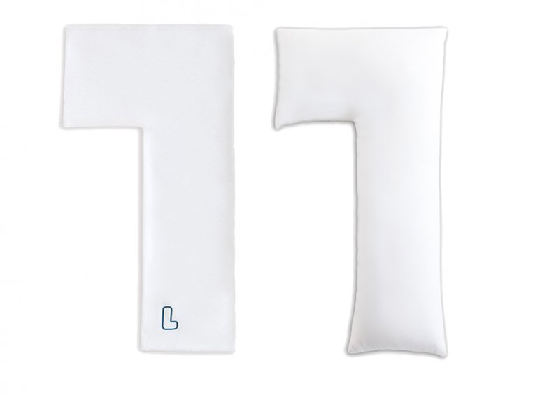 L-Shaped Body Pillow & 2 Cases by The snuggL Company - 4