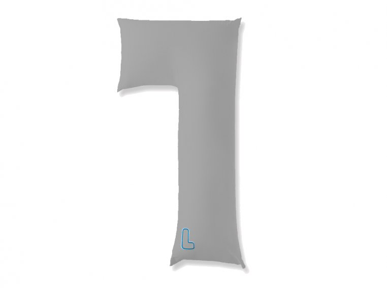 L-Shaped Body Pillow & 2 Cases by The snuggL Company - 7