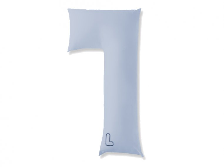 L-Shaped Body Pillow & 2 Cases by The snuggL Company - 8