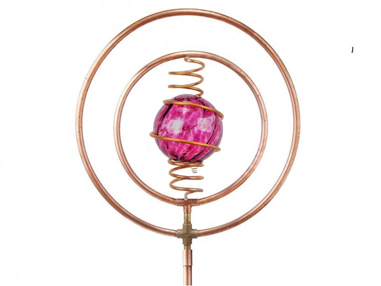 Spinning Copper Sprinkler by Hoppy's Garden Art - 7