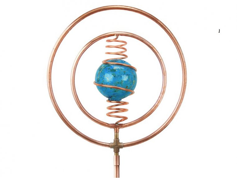 Spinning Copper Sprinkler by Hoppy's Garden Art - 9