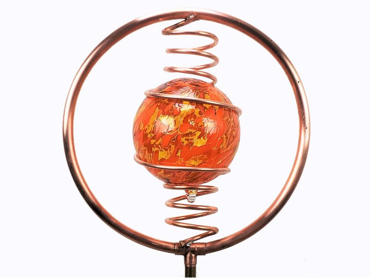 Spinning Copper Sprinkler by Hoppy's Garden Art - 12