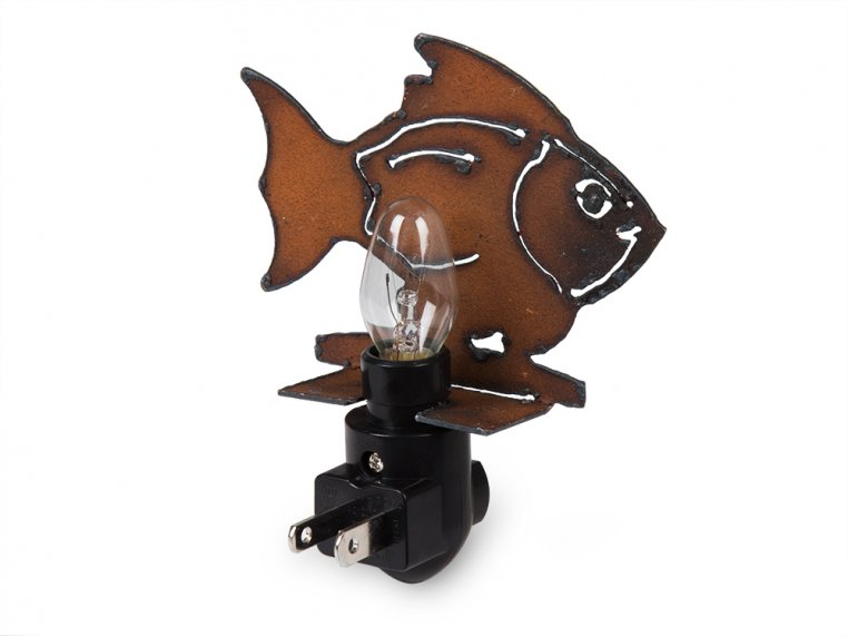 Reclaimed Metal Animal Night Light by Whimsies - 4