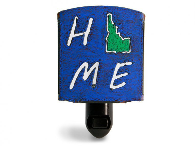 Reclaimed Metal Home State Night Light by Whimsies - 15
