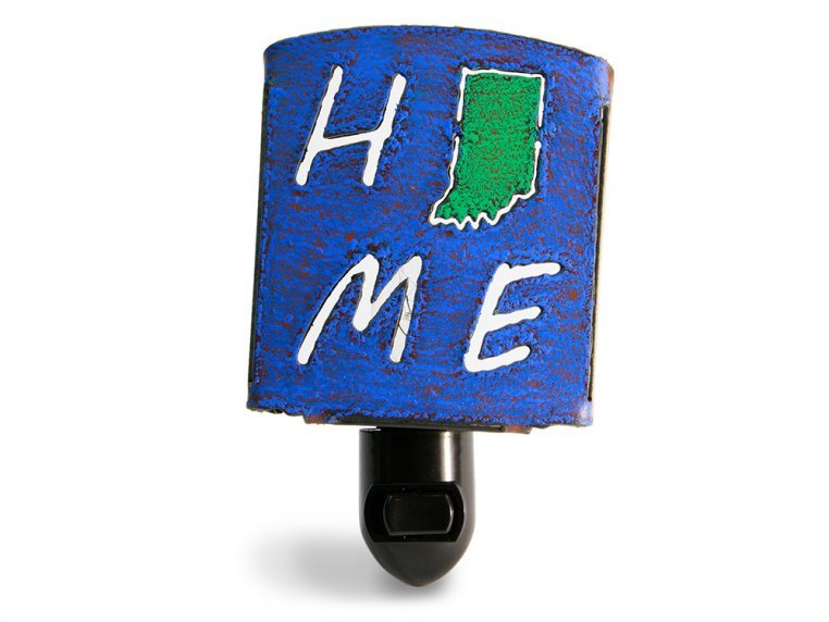Reclaimed Metal Home State Night Light by Whimsies - 17