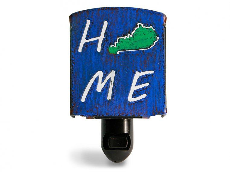 Reclaimed Metal Home State Night Light by Whimsies - 20
