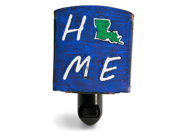 Reclaimed Metal Home State Night Light by Whimsies - 21