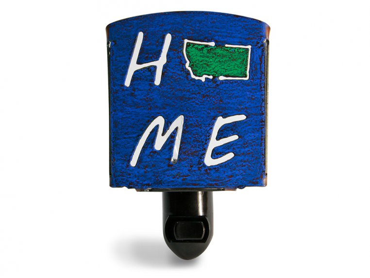 Reclaimed Metal Home State Night Light by Whimsies - 29