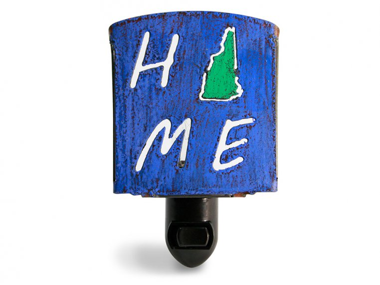 Reclaimed Metal Home State Night Light by Whimsies - 32