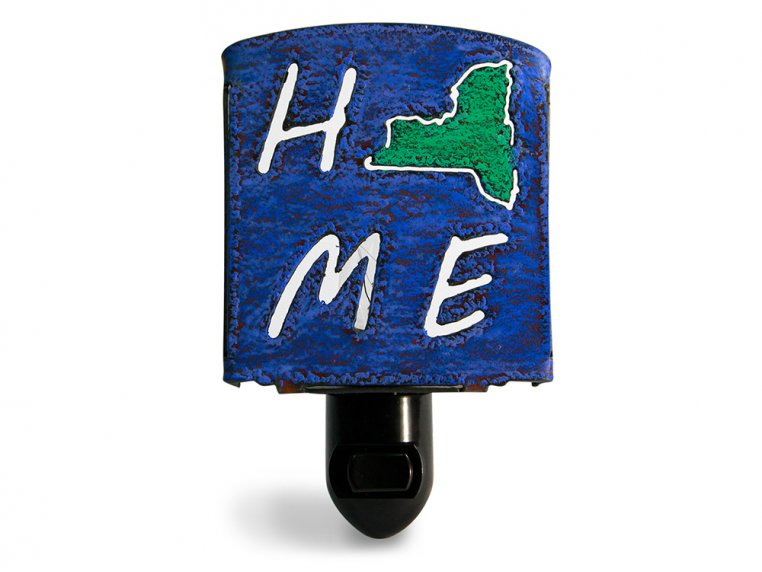 Reclaimed Metal Home State Night Light by Whimsies - 35