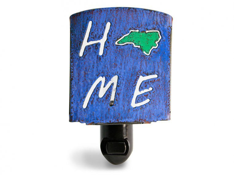 Reclaimed Metal Home State Night Light by Whimsies - 36