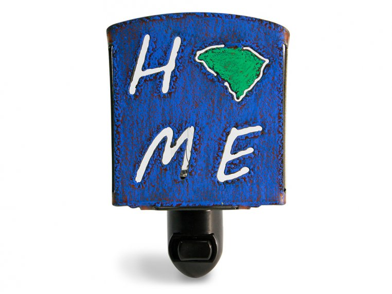 Reclaimed Metal Home State Night Light by Whimsies - 43